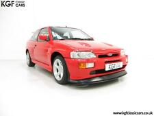 An Iconic Big Turbo Ford Escort RS Cosworth with Only 8,434 Miles