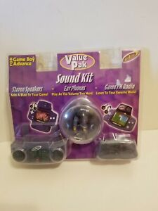 Intec Sound Kit Nintendo Game Boy Advance Stereo Speakers FM Radio Ear phones