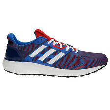 Adidas Men's Supernova Running Shoes Blue White Red  CG2701 SIZE 7.5