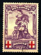 BELGIUM - BELGIO - 1914 - Pro Croce Rossa.Monumento al Conte di Merode -