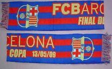 Bufanda/Scarf FC BARCELONA Final COPA REY '09 Azulgrana