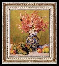 1800's Fruit & Flowers Miniature Dollhouse Picture