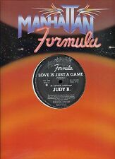 JUDY B love is just a game 12INCH 33RPM CANADA EX