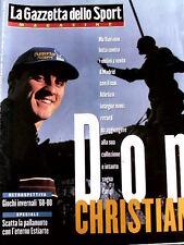 Gazzetta dello Sport Magazine 5 1998 Christian Vieri Speciale - Pallanuoto