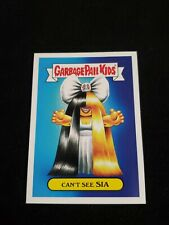 2017 GARBAGE PAIL KIDS Battle of the Bands 10a CANT SEE SIA POP GPK