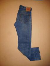 Men's LVC Levi's Vintage Clothing Selvedge 501 XX Jeans bleu foncé 33X34-E22