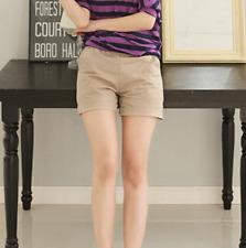 Plus Size Women Cotton Hot Pants Casual Beach Shorts Summer Ladies Sports Shorts