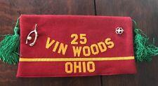 Vintage 60s VIN WOODS Ohio Order of the Cootie Veterans VFW Ladies Hat w/Pins