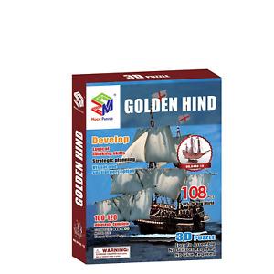 Santa Maria Ship 3D Paper Puzzle - 108 Pcs
