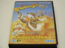 !!! SEGA MEGA DRIVE Donald Quackshot JAPAN o. Anl. GUT !!!