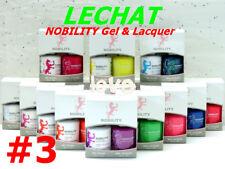 LECHAT NOBILITY LED/UV GelColor & Free Nail Polish Duo Set #3 /Choose Any Color