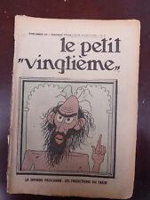 Tintin - Petit Vingtième- n°33 du 16/08/1934 (Couv. Tintin-Lotus) TBE!!!