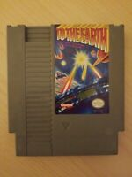 To The Earth - NES Nintendo Light Gun Game CARTRIDGE ONLY FREE S/H