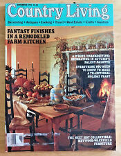 Country Living Magazine 1994 Thanksgiving Decorating Turkey Collectibles Recipes