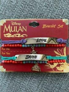 Disney Mulan Loyal & Brave Bracelet Ensemble