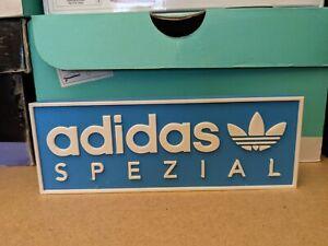 Adidas Spezial Plastic Sign Blue /white