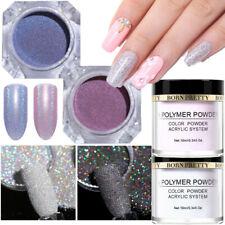 6X Glitter Set Holographic Glitter Gradient Sugar Powder Dust Acrylic Powder Kit