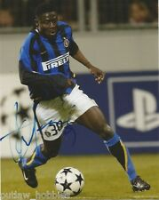 Inter Milan Obafemi Martins Autographed Signed 8x10 Photo COA