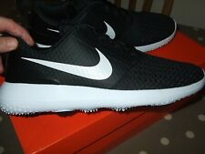 New listing New Nike Roshe Black Unisex Golf Shoes Spikeless Trainers Size 6 Regular Fit