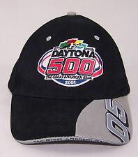 2005 47th Annual Daytona 500 HAT - Black - Adjustable - NWOT