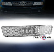 1996-2001 AUDI A4/S4 B5 FRONT GRILLE RS STYLE REPLACEMENT GRILLE INSERT CHROME