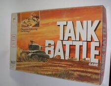 Vintage TANK BATTLE Board Game (1975) Milton Bradley ~ Military
