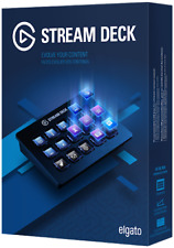 Corsair Elgato 10025500 Wireless Stream Deck Keyboard 15 Customizable LCD keys