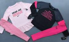 "GIRL'S 5 LOT FALL/WINTER OUTFITS NIKE ""HEAR ME ROAR"" & UNDER ARMOUR LOT NWT"
