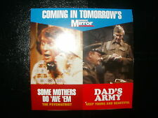 SOME MOTHERS DO AVE EM - DADS ARMY - SUNDAY MIRROR PROMO DVD  FREE UK POST