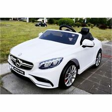 LICENSED MERCEDES BENZ S63 AMG COUPE 12V ELECTRIC KIDS CHILDS RIDE ON CAR REMOTE
