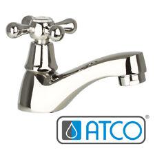 Retro Kaltwasser Armatur Standventil Wasserhahn Waschtisch Nostalgie Kreuzgriff