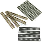 4pcs/set Ladder Rail Cover 17 slot Handguard Weaver Picatinny Heat Resistant