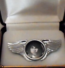 Doors Morrison Fire Me Love Rock Band Wing Live Concert Hat Jacket Badge Pin Sun