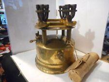 lampe rechaud vapeur de petrole ultimus 4 becs 1907 petrol vapor stove lamp