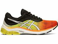 ASICS Men's Gel-Pulse 11 Running Shoes, Shocking Orange/Black, Size 11.0