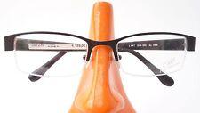 Titan Gestell teilrandlos Brillen Fassung Herren schwarz leicht Nylorrand Gr L