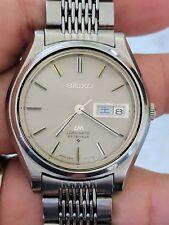 """Vintage '69 Seiko Lordmatic LM Watch, 5606-7070, JDM, """"Waterproof,"""" Orig. Band"""