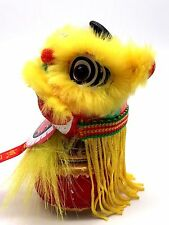 Mini handcrafted Chinese-style Lion Dance Car Decoration/traditional Gift Car