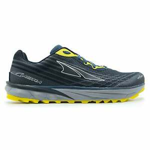 Altra Timp 2 Mens ZERO DROP Trail Running Shoes Moroccan Blue/Yellow