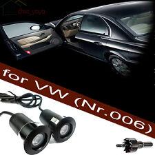 2x Tür Licht Einstiegsbeleuchtung LED Logo Projektor für Alle VW Golf Passat EOS