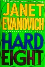 Janet Evanovich SIGNED Hard Eight - First 1st ed 2002 mystery novel HC-DJ