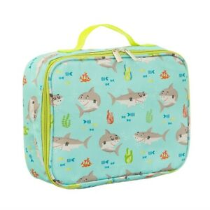 Sass & Belle Shelby The Shark Lunch Bag Kids Insulated Cool Picnic Bag Lunchbox