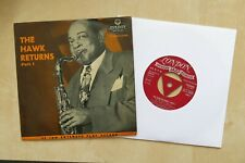 "COLEMAN HAWKINS The Hawk Returns Part 2 UK 7"" EP London EZ-C 19020 1957"
