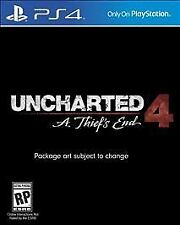 Uncharted 4: A Thief's End (Sony PlayStation 4, 2016)M