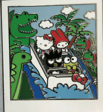 Universal Studios Hello Kitty And Friends Jurassic Park Ride Collectible Pin New