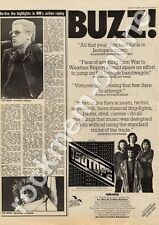 Isotope GULP 1002 Newcastle Polytechnic MM4 LP/Tour Advert 1974