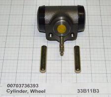 "New Fits Clark Forklift  Wheel Cylinder 1-11/32""B PN 3736393 W/ 2 Push Rods"