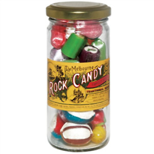 The Melbourne Rock Candy Family Assorted Jar 170g