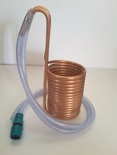 16 coil wort chiller - home brewing - copper cooler - micro beer wholegrain
