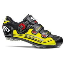 SIDI Eagle 7 Fit MTB Cycling Shoes Bike Shoes Black/Yellow/Black Size 36-46 EUR